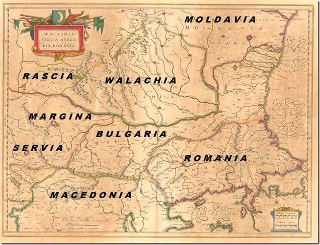 Romania Harta Veche Materiale De Istorie